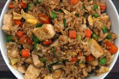 Why order takeout when you can make this simple, savory tofu fried rice right in your own kitchen?