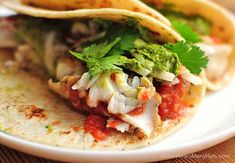 This flavorful recipe for easy Fish Tacos will have you making them all the time.