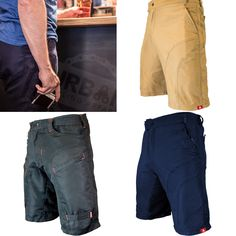Urban Cycling Apparel - Pub Crawler padded cargo bike shorts.  Perfect for commuting, mountain biking, or... pub crawling.  Available on Amazon.