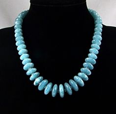 Aquamarine & Sterling Silver Statement Necklace by TheSilverBear