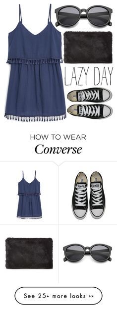 """Athens"" by ladyturquoise8 on Polyvore featuring MANGO, Converse and Whistles"