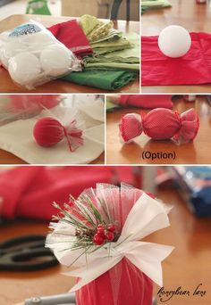 How to Make an Easy Christmas Ornament