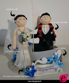 ...ele-ganza...: cake topper #matrimonio personalizzato #customcaketopper #caketopper #toppercake #topcake #weddingidea #weddingcake #wedding #bride #weddingcaketopper #sopratorta #cakedesign #cakeidea #caketop #fimo #clay #clayproject #clayminiature #milan www.ele-ganza.it