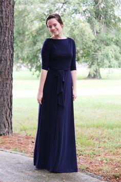 Jodi Maxi Dress - Navy