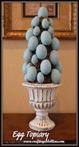 Cute Egg Topiary