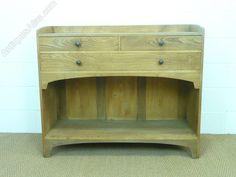 Heal's Chestnut Letchworth Cottage Dresser / Sideb