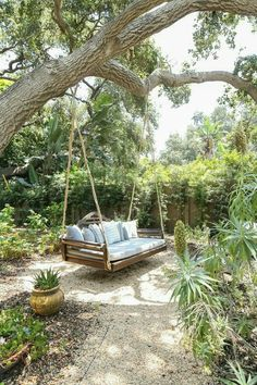 Gravel Landscaping, Rustic Landscaping, Landscaping Ideas, Patio Ideas, Design Jardin, Backyard Patio Designs, Dream Garden, Garden Inspiration, Outdoor Gardens