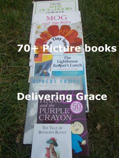 delivering grace: 70+ Picture books