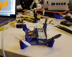 Designing a drone we can always fly higher Open Source, 3d Printer, Stationary, Bike, Instagram Posts, Design, Bicycle, Bicycles