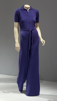 Jumpsuit  Halston, 1972  The Indianapolis Museum of Art