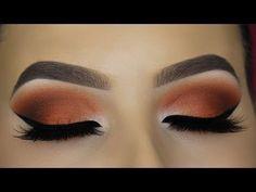 Classic Brown Cat Eye Makeup Tutorial http://makeup-project.ru/2017/11/23/classic-brown-cat-eye-makeup-tutorial/