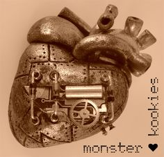 MORE Anatomically Correct Industrial/Steampunk Style Hearts! - POTTERY, CERAMICS, POLYMER CLAY - Knitting, sewing, crochet, tutorials, children crafts, papercraft, jewlery, needlework, swaps, cooking and so much more on Craftster.org