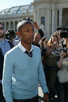 best dressed men casual - Pharrel