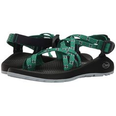 Chaco ZX/2 Classic (Eclipse Green) Women's Sandals ($105) ❤ liked