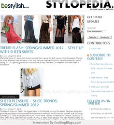 Latest Fashion Trends, News for Men & Women - beStylish Fashion Blog - Click to visit site:  http://1.33x.us/J6BbHr