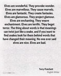 The meanings of words can twist, just like a snake...