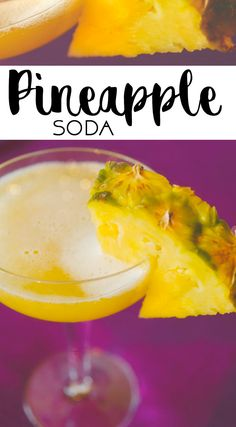 PINEAPPLE SODA | ANANASSOODA