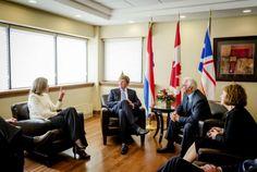 Koningspaar brengt staatsbezoek aan Canada | metronieuws.nl