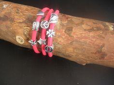 Leuke wikkel armband kijk op 4you-sieraden.nl