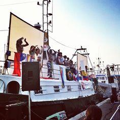 Barca brasileira by @igersRimini