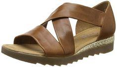 Gabor 42.711.55 Damen Durchgängies Plateau Sandalen ,Brown (Brown Leather/Jute) ,40 EU EU - http://on-line-kaufen.de/gabor/40-eu-gabor-42-711-damen-sandalen-2