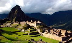 One along the famous Inca Trail for four days and reach one of the wonders of the modern world: Machu Picchu.