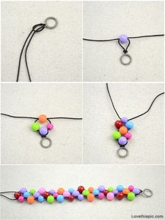 Tendance Bracelets  bricolage bijoux bricolage bracelet artisanale rusés faciles