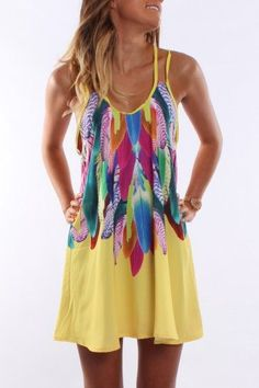 Bright Colours Summer Dress – Trends 2014