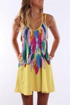 Bright Colours Summer Dress – Trends 2014 - Fashion, Makeup, Nails Design - My Woman Secret