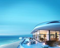 Stunning Miami Beach Penthouse designed by Foster and Partners