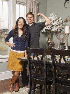 Fixer upper Hosts Chip and Joanna Gaines on HGTV