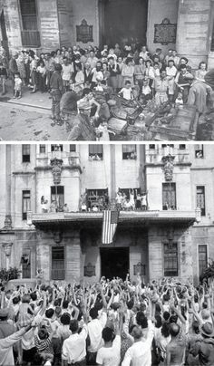 of Santo Tomas, used as internment camp by the Japanese, was liberated by the Americans on Feb. Manila, Wwii, Philippines, Book Art, Dolores Park, Nostalgia, Camping, Japanese, Book Illustrations