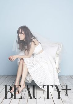 """Yoon Seung Ah in pictorial for """"BEAUTY+"""" magazine 