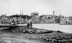 The Confederate capital of Richmond, Virginia fell to Union control April 3rd 1865.