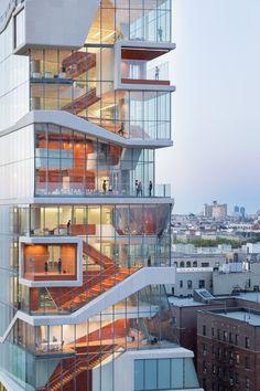 Iwan Baan photographs Diller Scofidio + Renfro's Vagelos Educational Building in New York