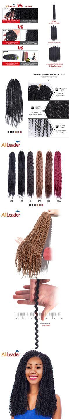 AliLeader Product Island Twist Freetress Hair Crotchet Braids 12 18 22 Inch 12 Roots Synthetic Kanekalon Crochet Hair Extensions