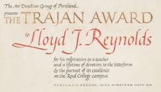 Trajan Award