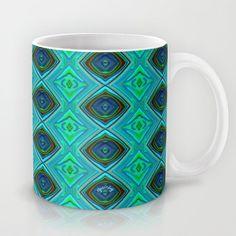 Aqua Mug by gretzky - $15.00