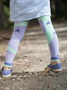 Luna Leggings - Eco friendly tights for kids.
