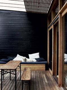 new wonderful pergola patio design ideas 7 Outdoor Rooms, Outdoor Living, Outdoor Decor, Indoor Outdoor, Outdoor Seating, Deck Seating, Outdoor Couch, Outdoor Sheds, Garden Seating