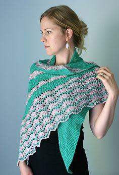 Ravelry: Pennae Shawl pattern by Hilary Smith Callis