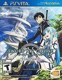 Sword Art Online Lost Song Sony PlayStation 4 New Game Arte Online, Kunst Online, Online Art, Online Anime, Sword Art Online, Zulu, Nintendo, Xbox One, Lost Song
