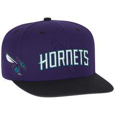 Charlotte Hornets adidas Youth 2016 NBA Draft Snapback Hat - Purple a068ae9862e