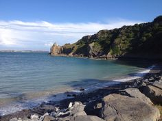 The beautiful Lydstep Beach