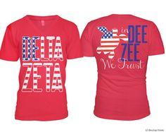 DZ Delta Zeta | American Style In Dee Zee We Trust
