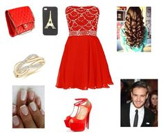 Going to Perrie wedding with Liam by harrystylesandliampayne on Polyvore featuring mode, Christian Louboutin, Chanel, Charlotte Russe and Payne