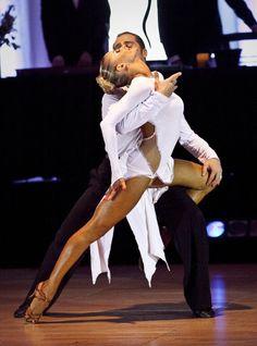 salsa bachata or latin dance dress - worn by Yulia ...