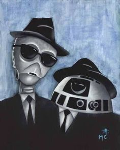 El desván del Freak: The Blues Droids. - R2D2 y C3PO