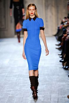 Victoria Beckham Fall 2012 Fashion Show/NY