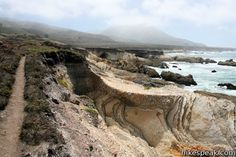 This level 1.2 to 3.4-mile hike in Montaña de Oro State Park passes tide pools and beaches along a picturesque rocky coastline.